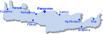 Panormo: Site Map